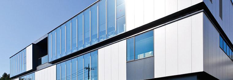工場塗装品 押出成形セメント板「アスロック」 株式会社ノザワ